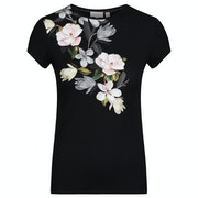 Ted Baker Torina Opal Printed Fitted Women's Short Sleeve T-Shirt
