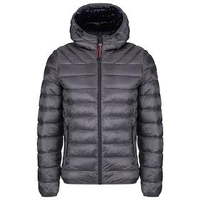 Napapijri Aerons Hooded Men's Jacket - Dark Grey