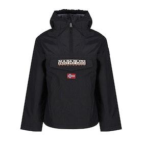 Napapijri Winter Rainforest Pullover Kid's Jacket - Black