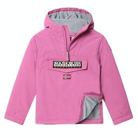 Napapijri Winter Rainforest Pullover Kid's Jacket - Dalpha Pink