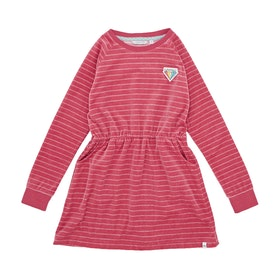 Animal Luxey Girls Dress - Slate Rose Pink