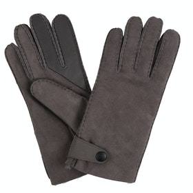UGG Sheepskin Side Tab Tech Handschuhe - Charcoal