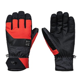Quiksilver Gates Snow Gloves - Poinciana
