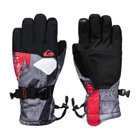 Quiksilver Mission You Boys Snow Gloves - Poinciana Giantforce