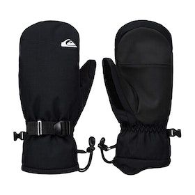 Quiksilver Mission Youth Mitt Boys Snow Gloves - Black