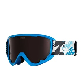 Quiksilver Sherpa Snow Goggles - Lyons Giant Force ~ Vermillion