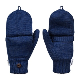 Roxy Alta Mittens Womens Gloves - Medieval Blue