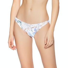 Rhythm Copacabana Cheeky Pant Bikini Bottoms - White