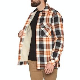 Lightning Bolt Noll Flannel Overshirt - Unique