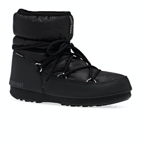 Moon Boot Low Nylon WP 2 Womens Boots - Black