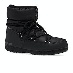Moon Boot Low Nylon WP 2 Dame Støvler - Black