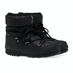 Botas Senhora Moon Boot Low Nylon WP 2 - Black