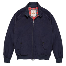Baracuta G9 Winter Cord Authentic Fit Men's Jacket - Navy