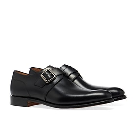 Dress Shoes Cheaney Made In England Moorgate - Black Calf