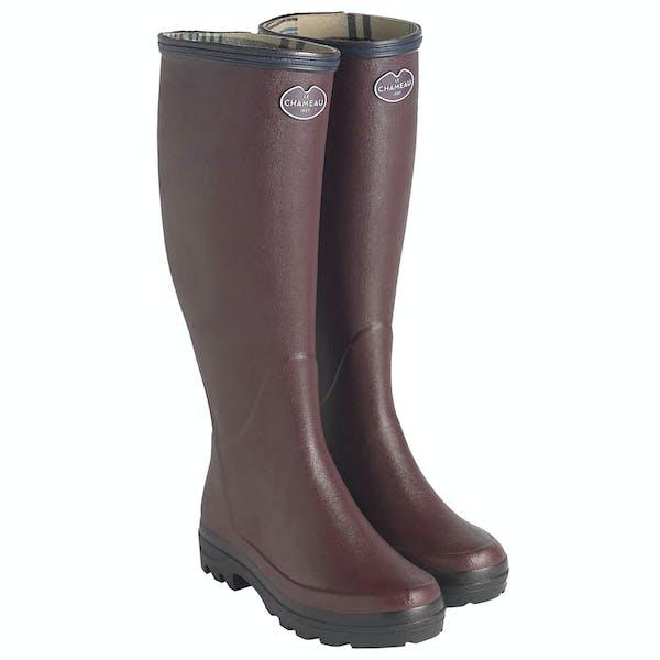 Le Chameau Giverny Jersey Lined Wellington Boots