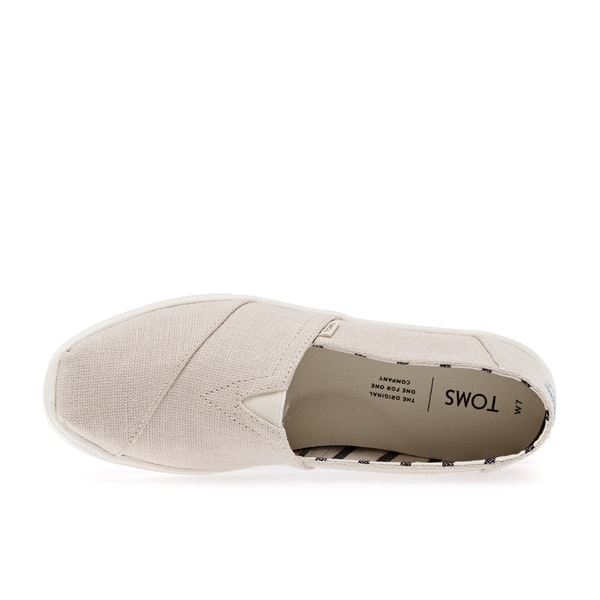 Toms Canvas Cupsole Womens スリップオンシューズ