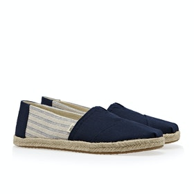 Toms League Women's Shoes - Navy