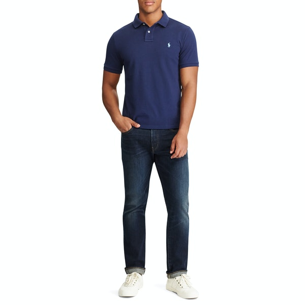 Polo Ralph Lauren Slim Fit Mesh Polo Shirt