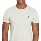 T-Shirt de Manga Curta Ralph Lauren Slim Fit Crew Neck