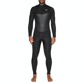 Billabong Furnace Absolute X 5/4mm Chest Zip Wetsuit - Black