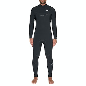 Billabong Furnace Comp 5/4mm Chest Zip Wetsuit - Black