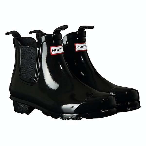 Hunter Original Chelsea Gloss Kid's Wellington Boots