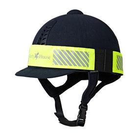 Derby House Hi Vis Riding Hat Band Hat Accessory - Yellow