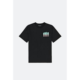 Chari & Co Dropping Logo S S T-Shirt - Black