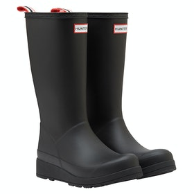 Hunter Original Play Tall Ladies Wellington Boots - Black