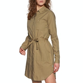 Fjallraven Övik Shirt Dress - Dark Sand