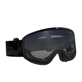 Salomon Four Seven Snow Goggles - Black ~ Universal Silver Mirror