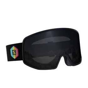 Salomon Lo Fi Snow Goggles - Huck Knife ~ Solar Black
