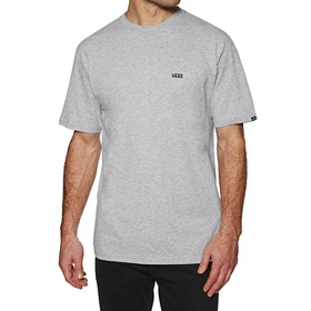 Vans Left Chest Logo T Shirt - Athletic Heather
