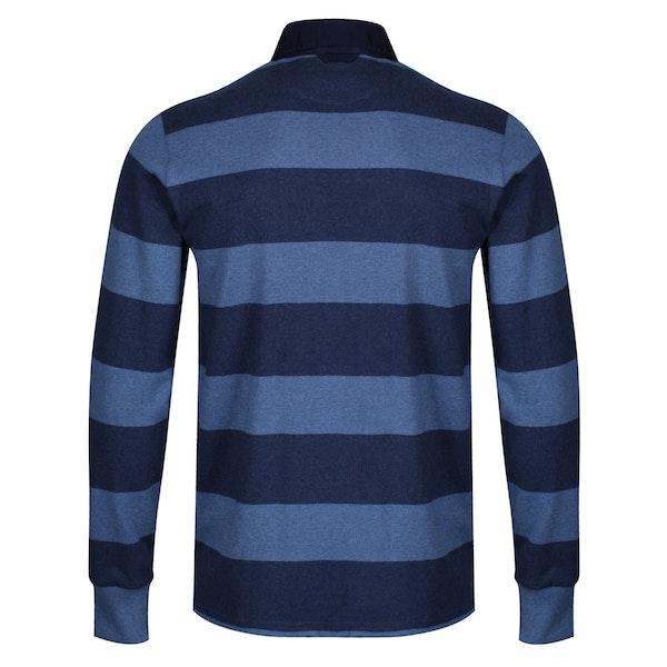 Gant The Original Barstripe Heavy Rugger Rugby Top