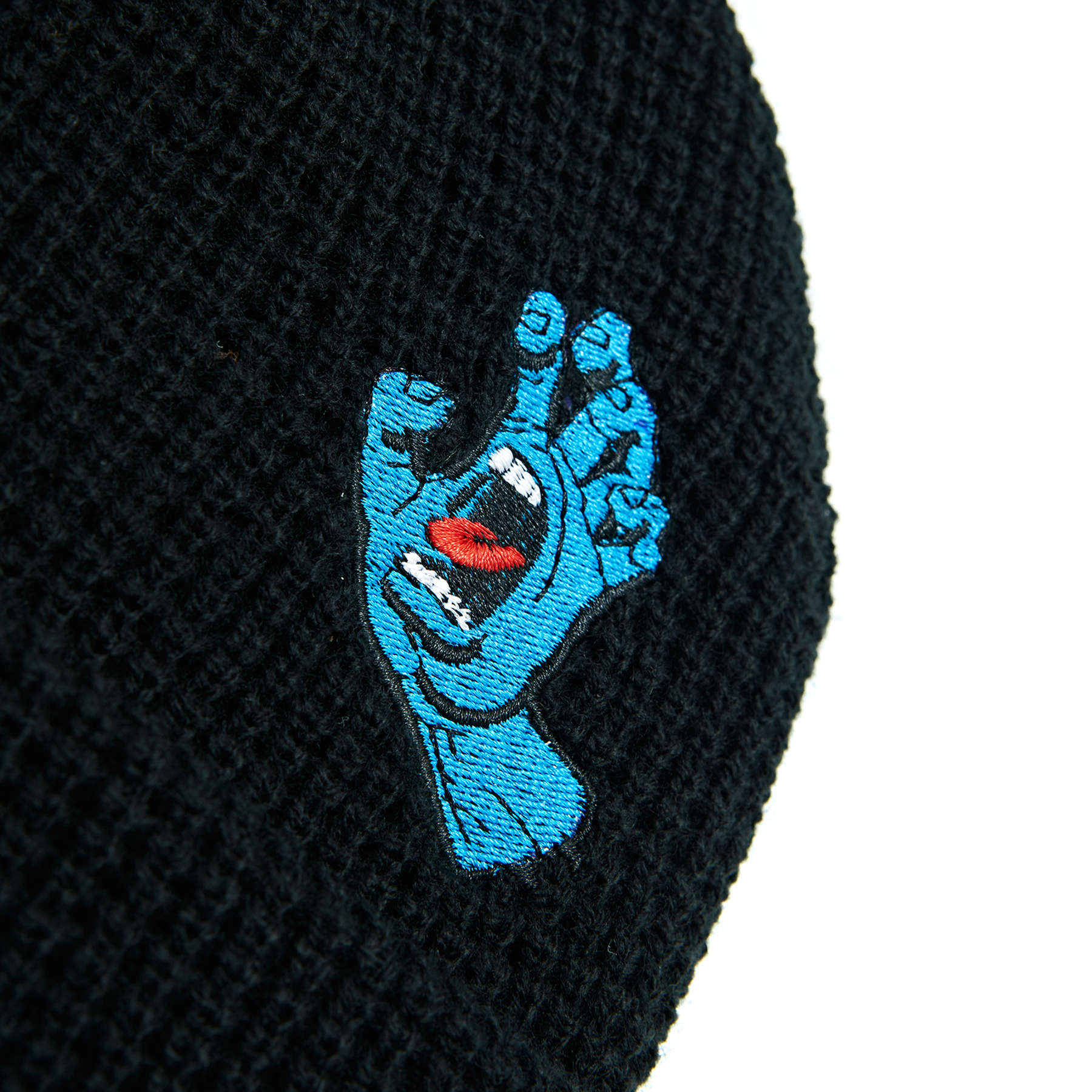 Santa Cruz Screamer Beanie Hat Black desarrollo.bh