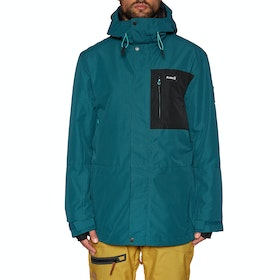 Blouson pour Snowboard Planks Feel Good Insulated - Peacock