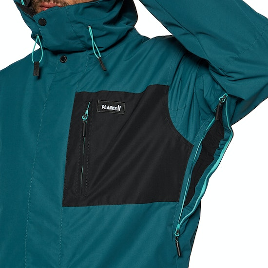 Chaqueta de snowboard Planks Feel Good Insulated