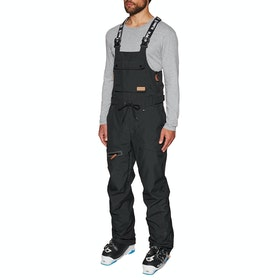 Planks The People's Bib Snow Pant - Black