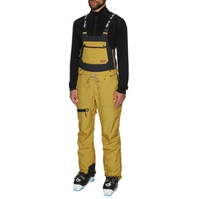 Planks The People's Bib Snow Pant - English Mustard