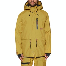 Blouson pour Snowboard Planks The People's Parka - English Mustard