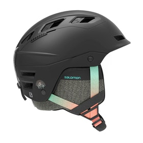 Salomon Qst Charge Ski Helmet - Black Gradient