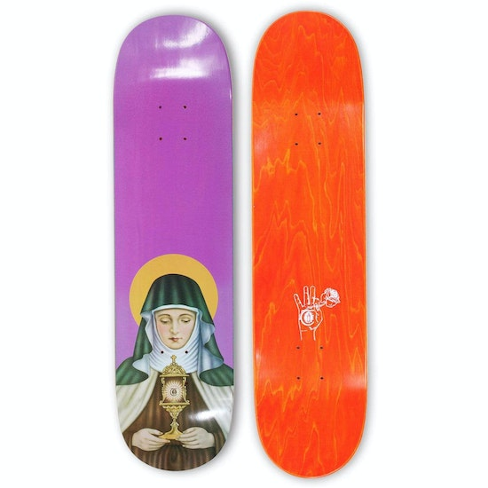 Theories Of Atlantis New Religion 8.5 Inch Skateboard Deck