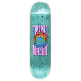 Theories Of Atlantis Worldwide 8.5 Inch Skateboard Deck - Orange Blue