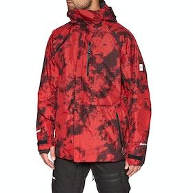 686 GLCR Gore Hyrastash Sync Snow Jacket - Red Dazed