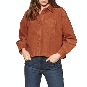 Element Back In Town Womens Shirt - Ginger Bread