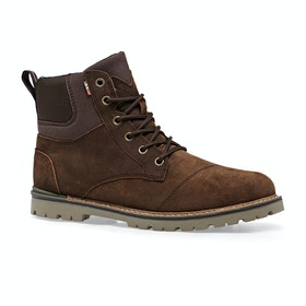 Stivali Toms Ashland Waterproof Rugged Canvas - Brown Waxy Suede