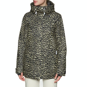 Wear Colour Blaze Womens Snow Jacket - Forest Leo