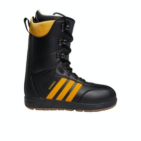 Adidas Snowboarding Samba ADV Snowboard Boots - Core Black Collegiate Gold