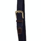 Barbour Stretch Webbing Leather Men's Web Belt