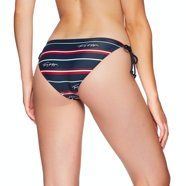 Tommy Hilfiger String Side Tie Cheeky Bikini Bottoms